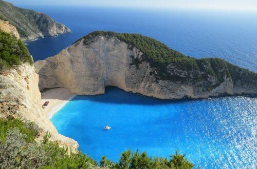 grecja wyspa wegański gyros