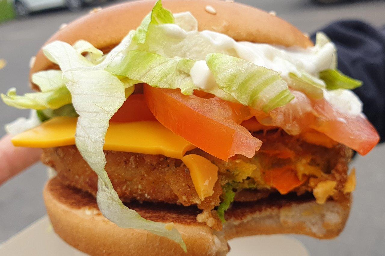 Veggie Burger McDonalds kotlet