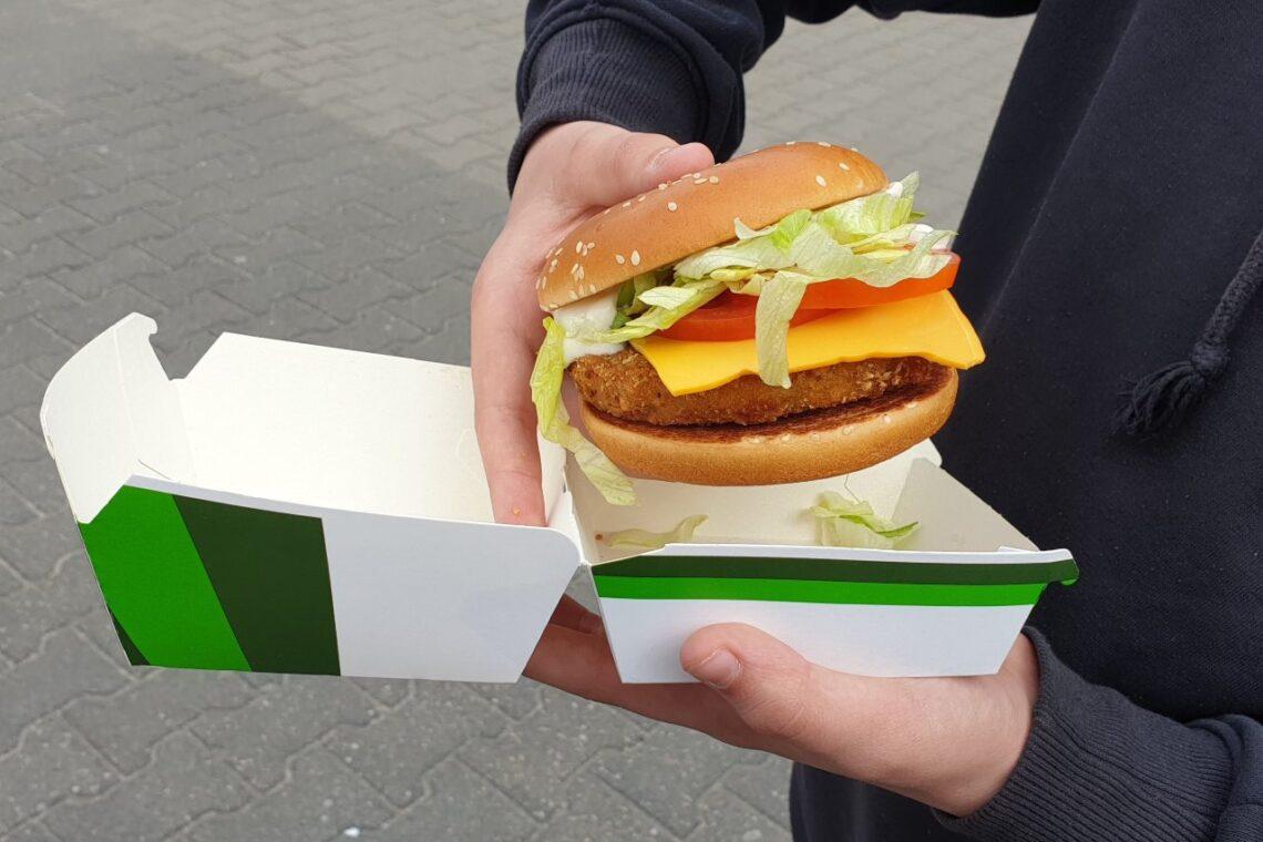 Veggie Burger z McDonald's