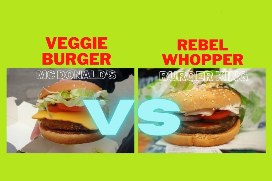 Veggie Burger z McDonald's VS Rebel Whopper z Burger King