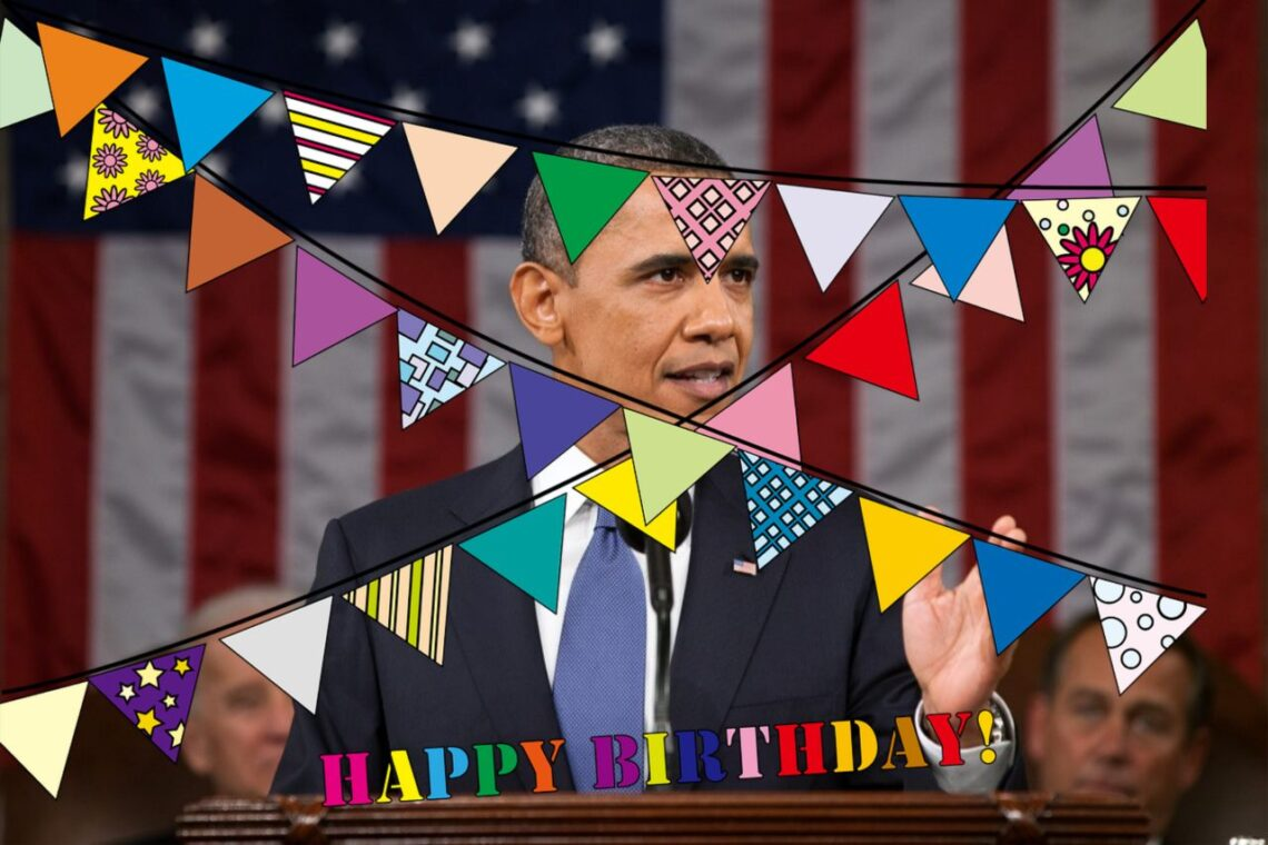 Zamienniki mięsa na urodzinach Obamy